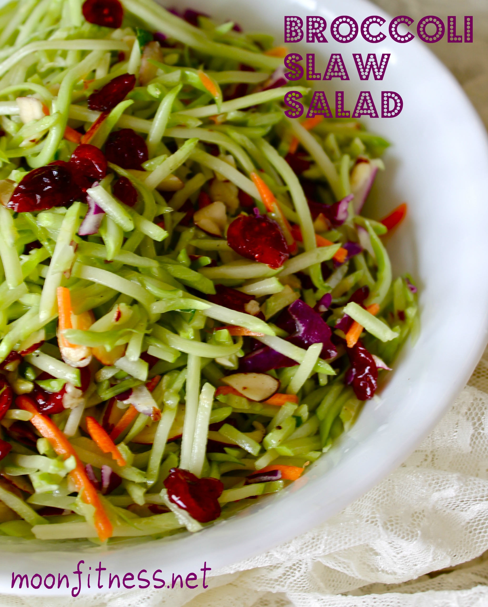 Recipe to Kickstart Your Spring Tastebuds- Broccoli Slaw Salad!